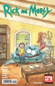 Rick & Morty #40 - Cover B by Natalie Riess
