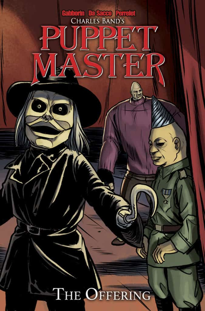 Puppet Master Volume 1 The Offering Cover