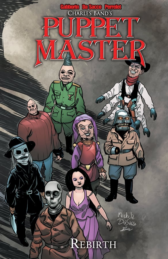 Puppet Master Volume 2 Rebirth Cover