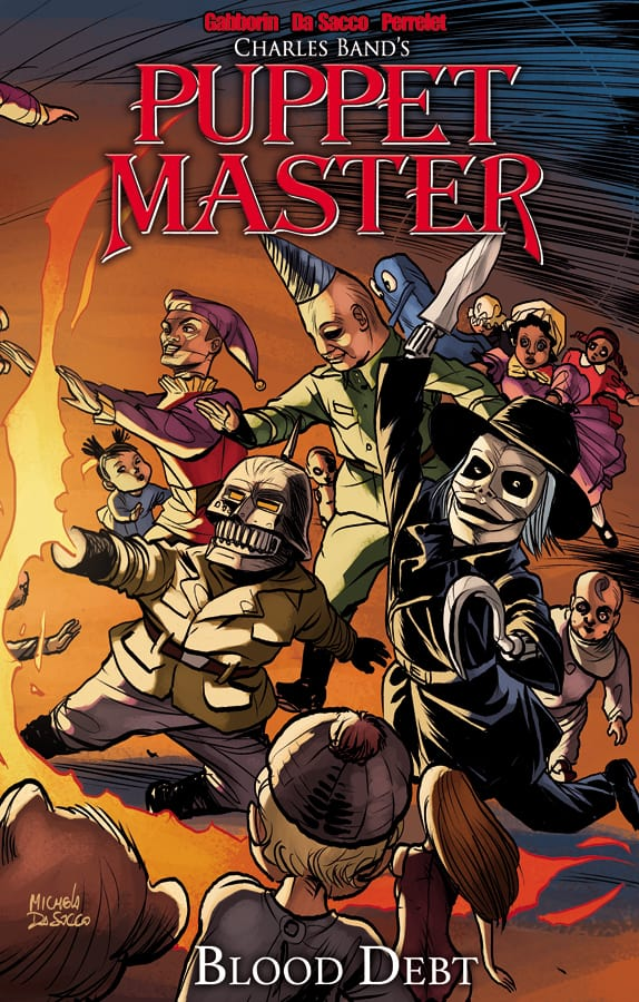 Puppet Master Volume 4 Blood Debt Cover