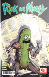 Rick and Morty #37 Pickle Rick Foil Variant by Mike Vasquez