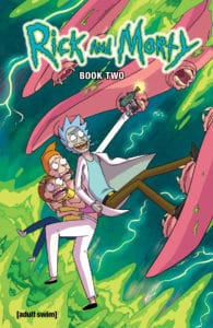 Rick and Morty Hardcover Book Two