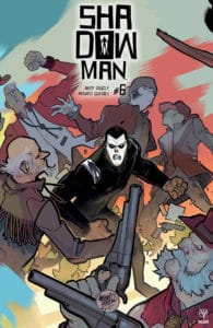 SHADOWMAN (2018) #6 – Interlocking Variant by David Lafuente