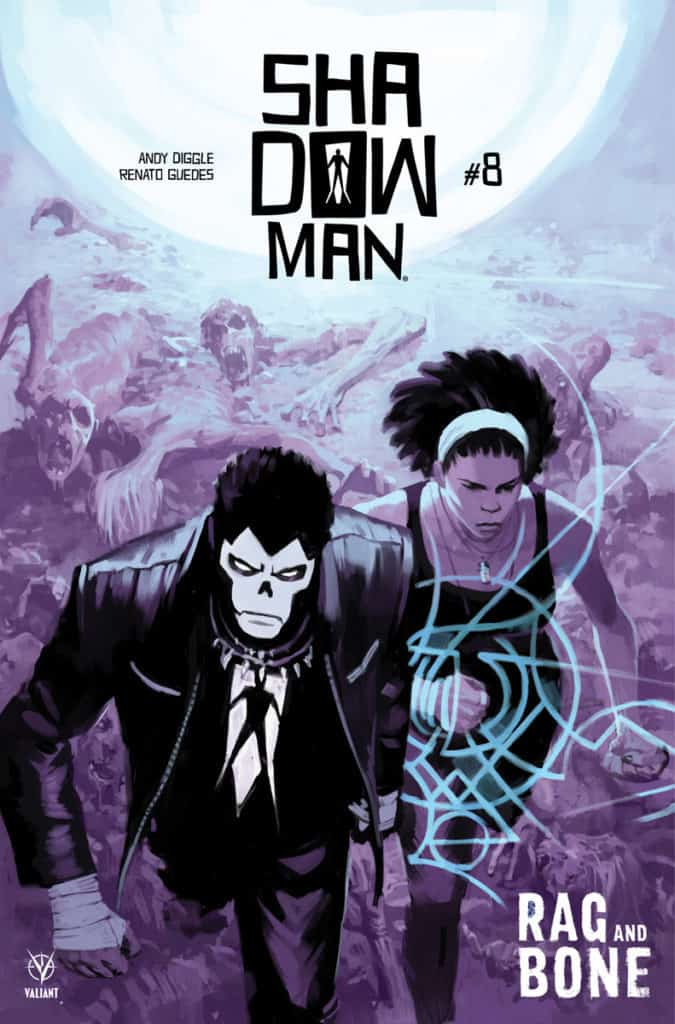 SHADOWMAN (2018) #8 - Cover A by Tonci Zonjic