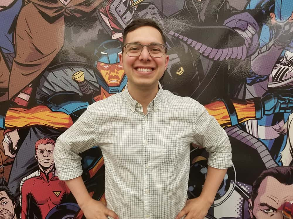 Valiant's Director of Sales Matthew Klein