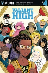 Valiant High #4 - Cover B by Derek Charm