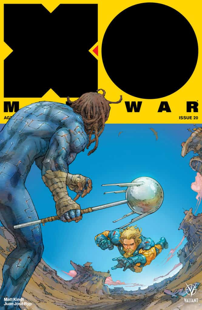X-O MANOWAR (2017) #20 - Cover A by Kenneth Rocafort