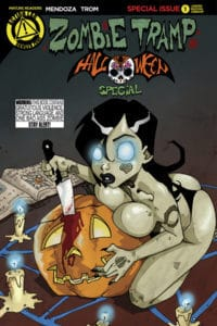 Zombie Tramp Halloween One-Shot Mendoza Variant