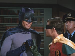 Adam West as Batman - Photo by Shed On The Moon, Public Domain