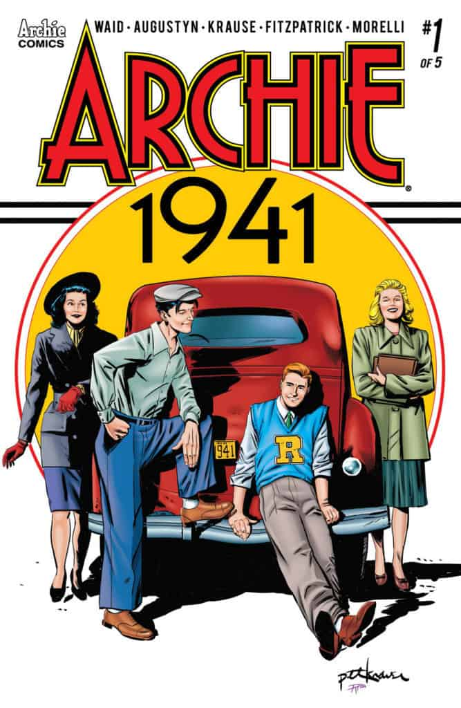 Archie 1941 #1 - Main Cover by Peter Krause