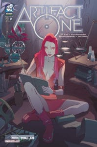 Artifact One #2 - Cover A by Romina Moranelli