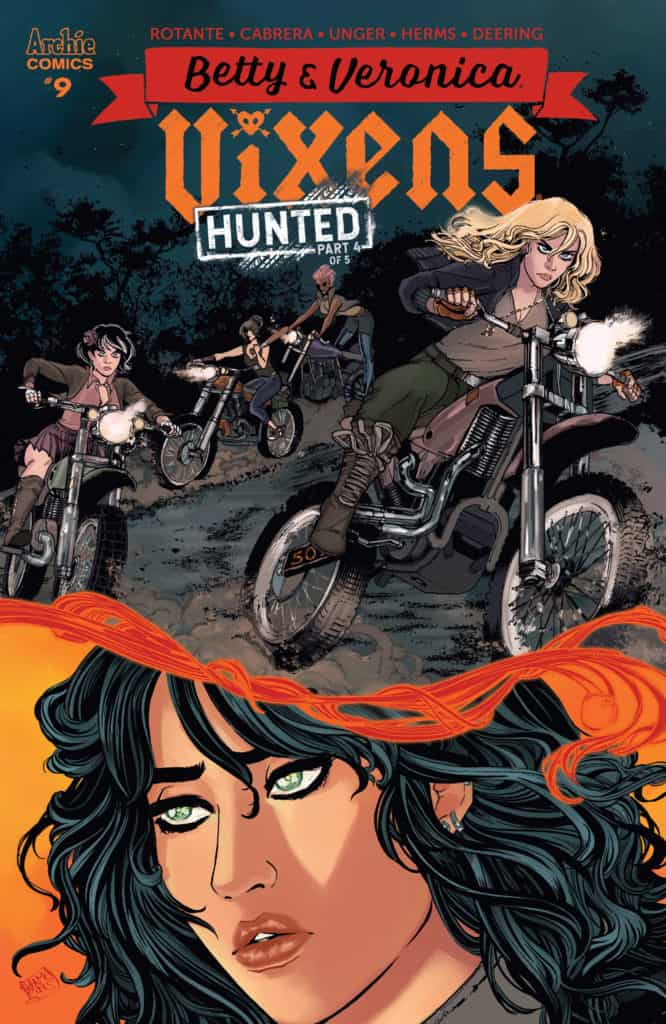 BETTY AND VERONICA VIXENS #9 - Main Cover by Sanya Anwar