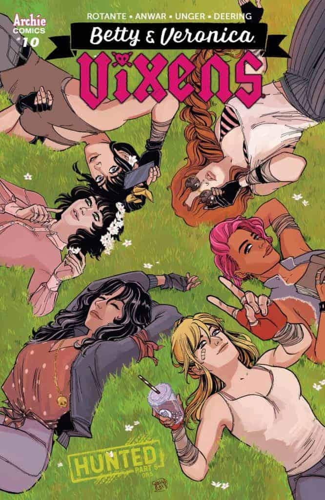 BETTY & VERONICA: VIXENS #10 - Main Cover by Sanya Anwar
