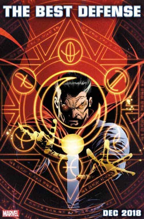 DOCTOR STRANGE: THE BEST DEFENSE cover by Ron Garney & Richard Isanove