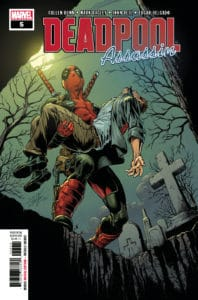Deadpool: Assassin #5 - Main Cover by Mark Bagley
