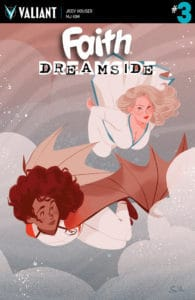 FAITH: DREAMSIDE #3 (of 4) - Cover B by Sibylline Meynet