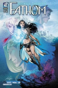 FATHOM Vol. 7 #6 - Cover A by Siya Oum