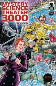 Mystery Science Theater 3000 #1 - Main Cover by Todd Nauck