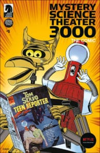 Mystery Science Theater 3000 #1 - Variant Cover by Steve Vance
