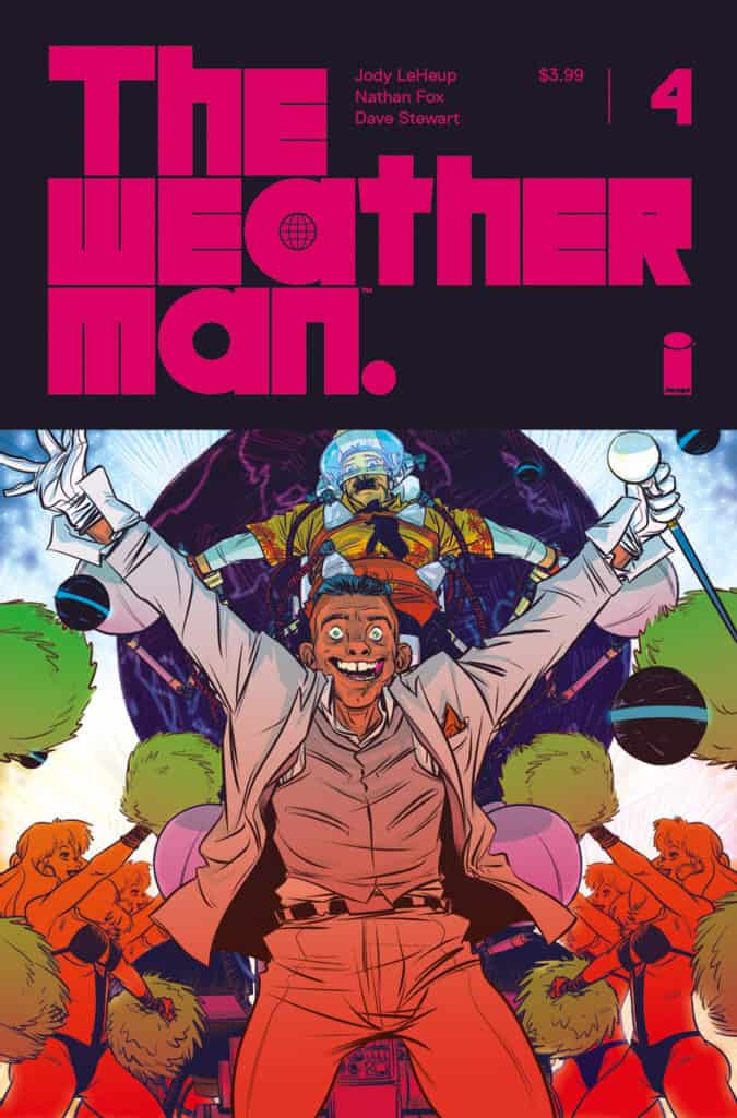 The Weatherman #4 - Cover A by Nathan Fox