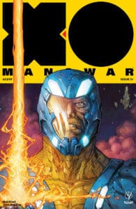 X-O MANOWAR (2017) #21 - Cover A by Kenneth Rocafort