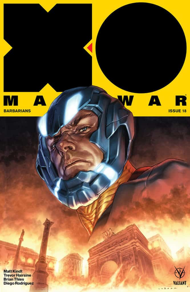 X-O MANOWAR #18 - Cover A by Lewis LaRosa