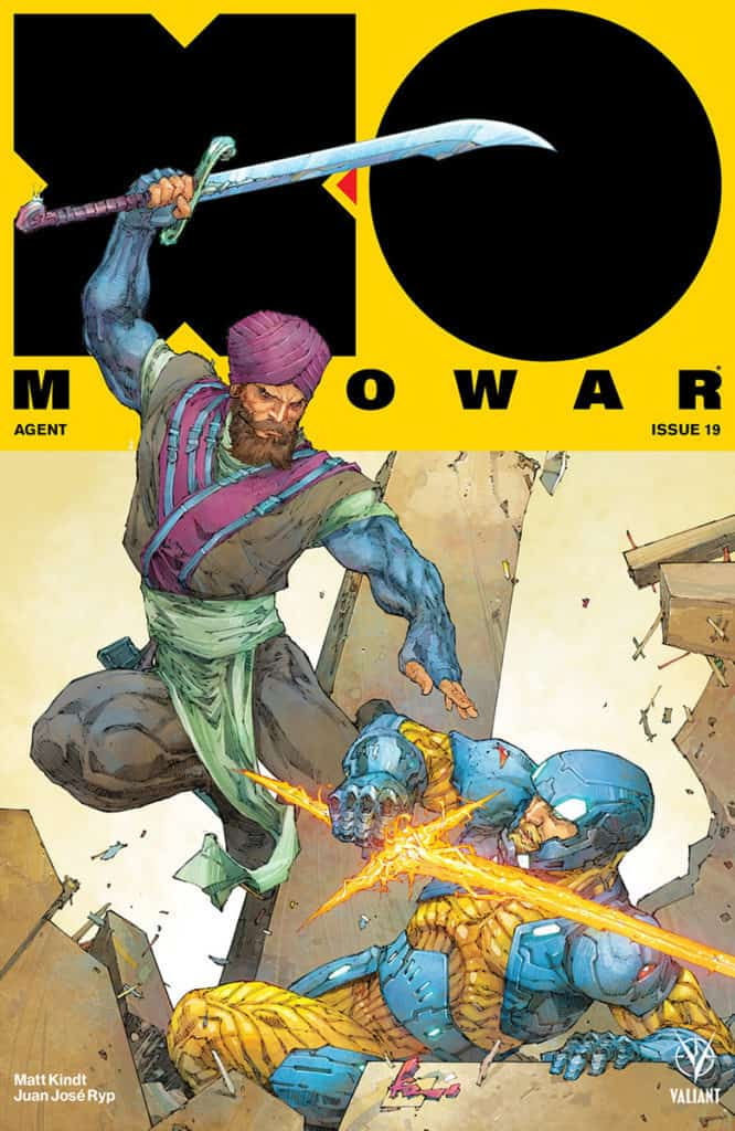 X-O MANOWAR #19 – Cover A by Kenneth Rocafort