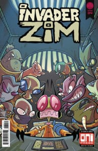 Invader ZIM #34 - Cover A