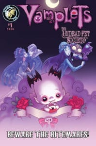 Vamplets Undead Pet Society #1 Cover B