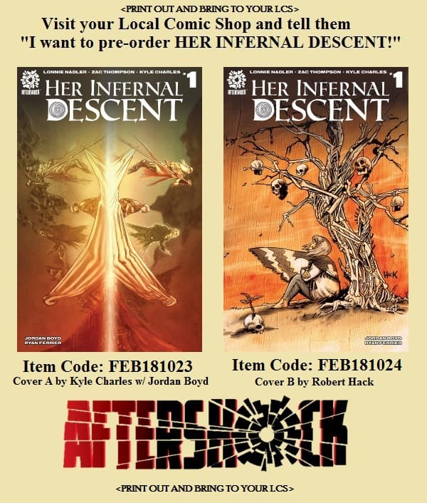Her Infernal Descent pre-order form – PopCultHQ on purchase order form, promotional product order form, photography order form, christmas cake order form, contact order form, thirty-one order printable order form, home order form, avon customer order form,