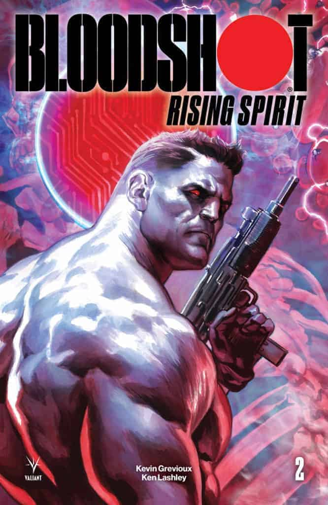 BLOODSHOT RISING SPIRIT #2 - Cover A by Felipe Massafera