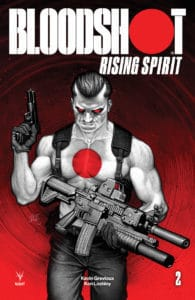 BLOODSHOT RISING SPIRIT #2 - Cover B by Leif Jones