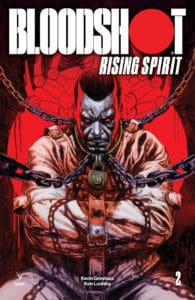 BLOODSHOT RISING SPIRIT #2 - Variant Cover by Leonardo Manco