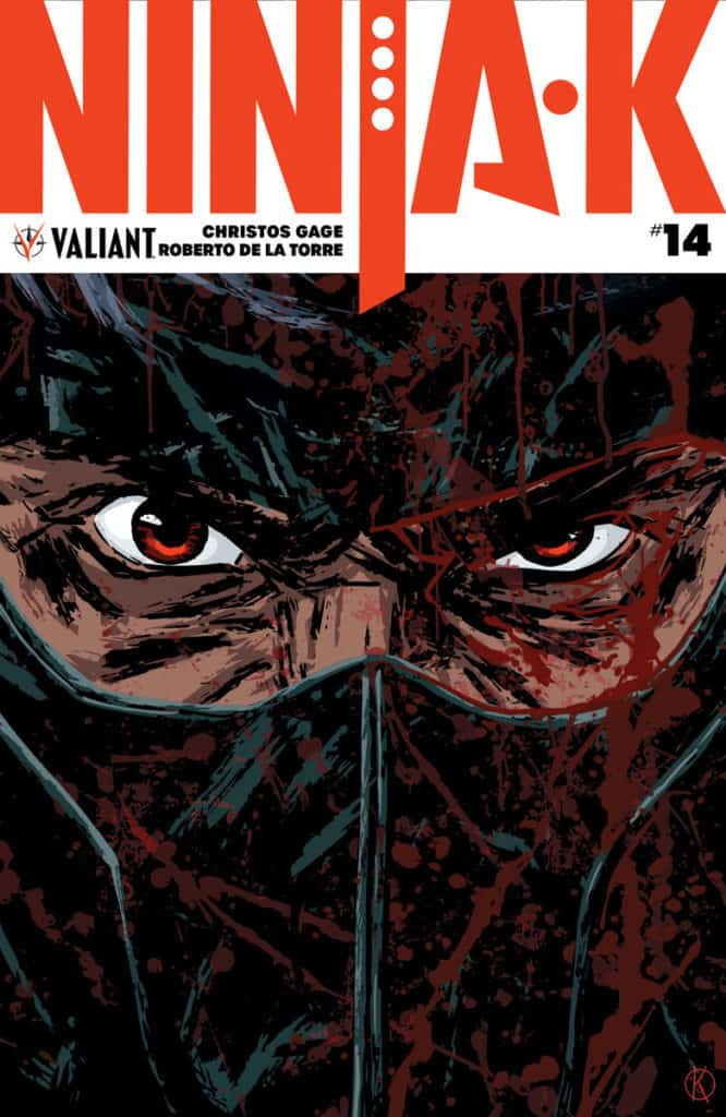 NINJA-K #14 - Cover A by Kano