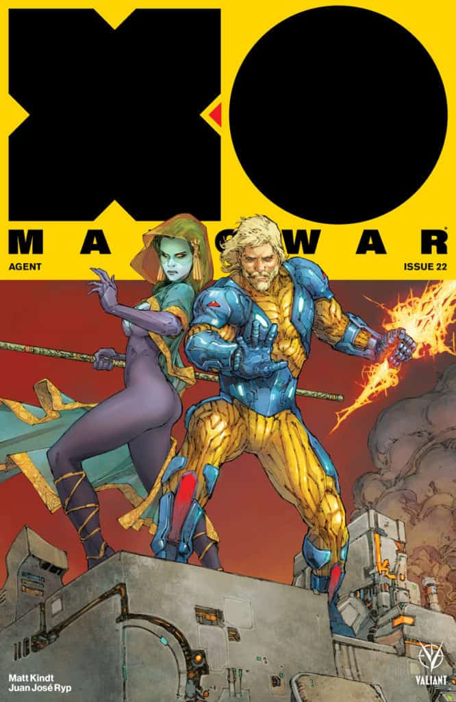 X-O MANOWAR (2017) #22 - Cover A by Kenneth Rocafort