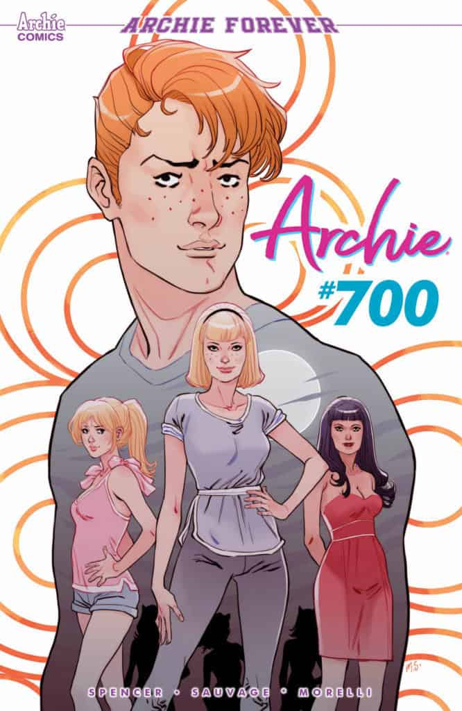Archie #700 - Main Cover by Marguerite Sauvage