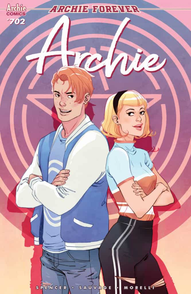 Archie #702 - Main Cover by Marguerite Sauvage