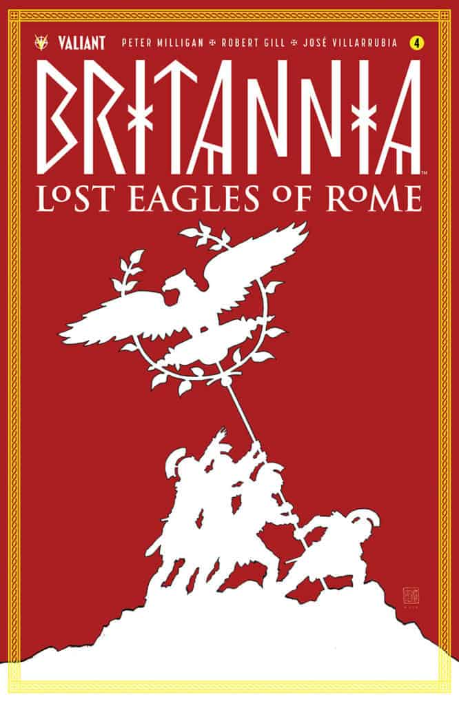 BRITANNIA: LOST EAGLES OF ROME #4 (of 4) - Cover A by David Mack