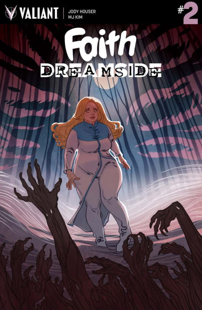 FAITH: DREAMSIDE #2 – Cover A by Marguerite Sauvage