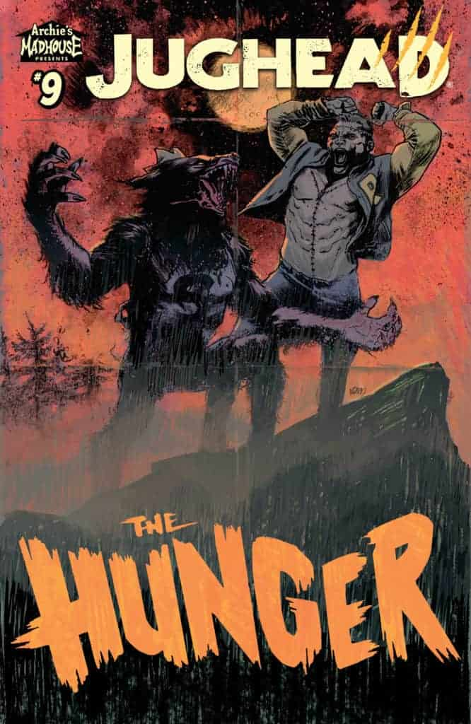 JUGHEAD: THE HUNGER #9 - Main Cover by Adam Gorham
