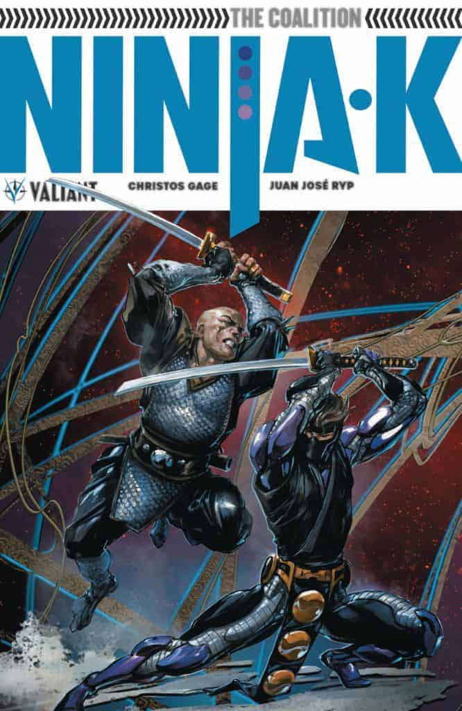 Ninja-K Vol. 2 TPB cover by Clayton Crain