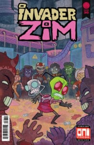 Invader ZIM #36 - Cover A