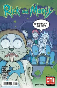 Rick and Morty™ #43 - Cover B