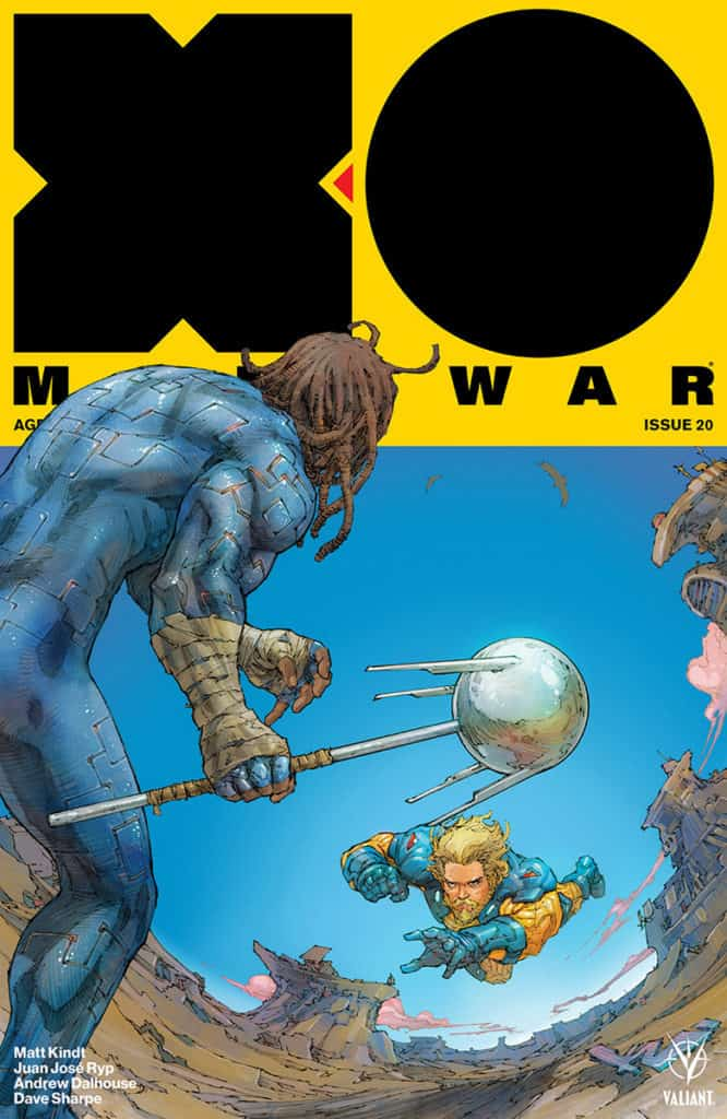X-O MANOWAR #20 - Cover A by Kenneth Rocafort