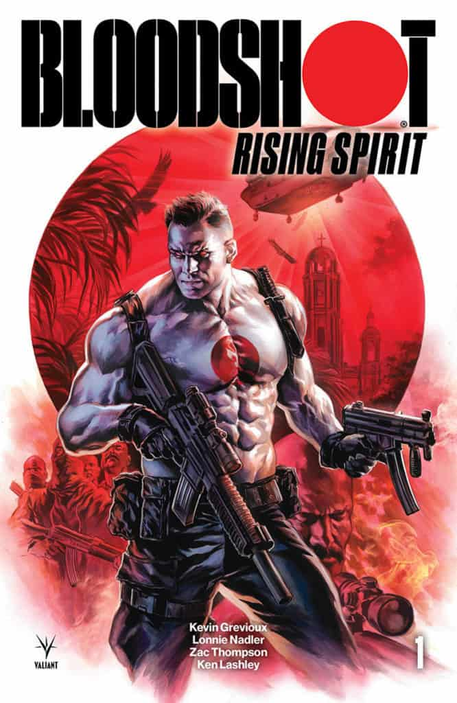 BLOODSHOT RISING SPIRIT #1 – Cover A by Felipe Massafera