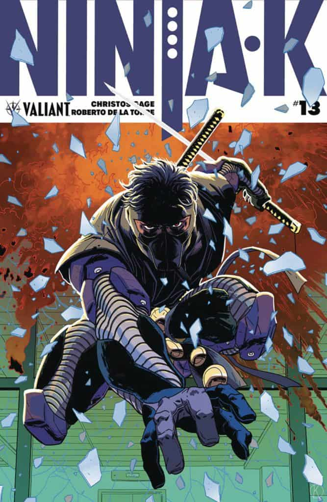 Ninja-K #13 - Cover A by Kano